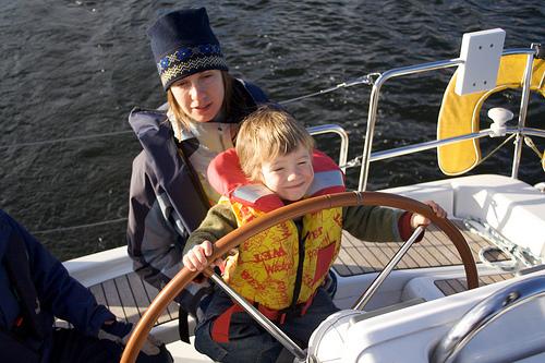 Первые шаги в яхтинге